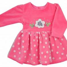 Rochie cu maneca lunga pentru bebelusi-Koala Ada 05-390F