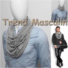 Eşarfă styleish rotundă pentru bărbaţi - Esarfa Barbati