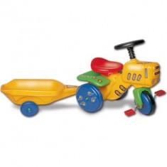 Tractor galben jucarie - Vehicul Klein