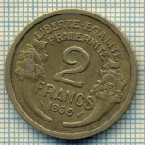 9263 MONEDA- FRANTA - 2 FRANCS -anul 1939 -starea care se vede, Europa