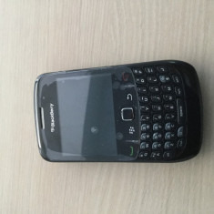 Telefon Mobil BlackBerry Curve 8520, Negru, blocat in reteaua Orange - Telefon mobil Blackberry 8520