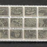 Germania.2007 500 ani Atlasul Lumii SG.1290 - Timbre straine, Nestampilat