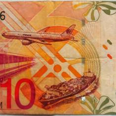 Bancnota 10 Ringgit - MALAEZIA, anul 2004  *Cod 420