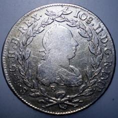 A.468 AUSTRIA JOSEPH II 20 KREUZER 1782 B ARGINT 6, 6g - Moneda Medievala, Europa