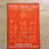 Brosura - Partidul Comunist Roman Judetul Mehedinti / propaganda 1987 / 64 pag !