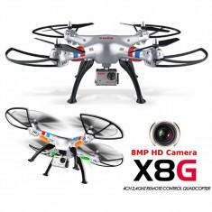 Drona syma X8G 2.4 GHZ, Camera video HD 8 mp, Full HD