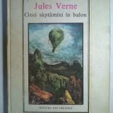 Jules Verne - Cinci saptamani in balon {Col. Jules Verne} - Carte de povesti