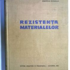 Gheorghe Buzdugan – Rezistenta materialelor