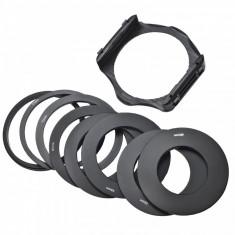 Suport Filtre Cokin P + 9 inele adaptoare (49 52 55 58 62 67 72 77 82mm) - Inel adaptor obiectiv foto