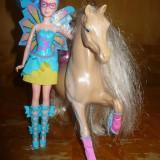 Papusa zana MATTEL Barbie, cu cal - OKAZIE