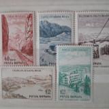 1964 LP 585 PUNCTE TURISTICE LA MARE - Timbre Romania, Nestampilat