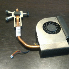 Sistem racire cooler + radiator laptop Compaq CQ61 ORIGINAL! Foto reale! - Cooler laptop