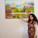 Pictura la Comanda - Pictor roman, Peisaje, Ulei, Abstract