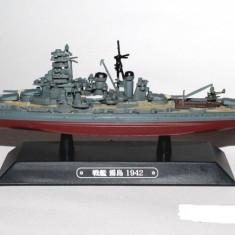 Macheta Crucisator Kirishima - Japan 1942 scara 1:1100 - Macheta Navala