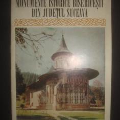 MONUMENTE ISTORICE BISERICESTI DIN JUDETUL SUCEAVA