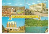 @carte postala(marca fixa)-RESITA-colaj, Circulata, Printata