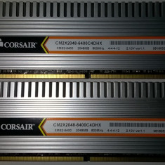Corsair DHX 4 GB DDr2 800MHZ Dualchannel 2*2GB CM2X2048-6400C4DHX Ver 1.1 Gaming