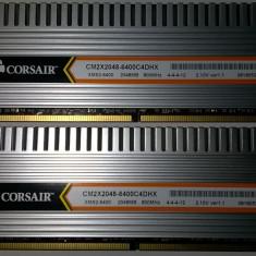 Corsair DHX 4 GB DDr2 800MHZ Dualchannel 2*2GB CM2X2048-6400C4DHX Ver 1.1 Gaming - Memorie RAM