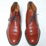 Pantofi piele naturala Francesco De Santis Vero Cuoio; marime 10 (29.5 cm)