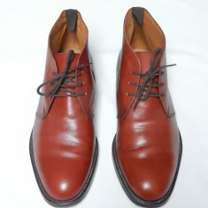 Pantofi piele naturala Francesco De Santis Vero Cuoio; marime 10 (29.5 cm) - Pantofi barbat, Marime: Alta, Culoare: Din imagine