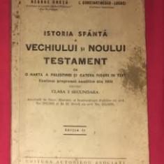 G. Cretu / I. Constantinescu-Lucaci ISTORIA SFANTA A VECHIULUI SI NOULUI TESTAM