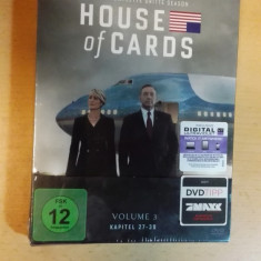 Film DVd House of Cards Volum 3 German