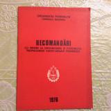 Brosura - Reconadari organizatia pionierilor / pionier - Propaganda 1976 / 20pag
