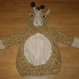 Costum carnaval serbare girafa pentru copii de 2-3-4 ani - Costum Halloween, Marime: Masura unica, Culoare: Din imagine