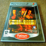 Pirates of the Caribbean The Legend of Jack Sparrow, PS2, alte sute de jocuri!, Actiune, 12+, Single player, Ubisoft