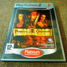 Pirates of the Caribbean The Legend of Jack Sparrow, PS2, alte sute de jocuri! - Jocuri PS2 Ubisoft, Actiune, 12+, Single player