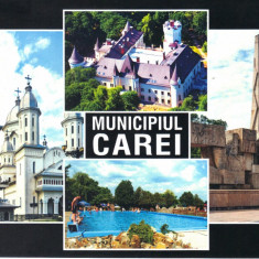 Carte postala CP SM023 Carei - Colaj - necirculata