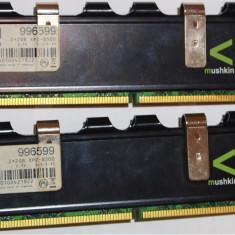 Kit Mushkin 4 GB DDr2 2*2GB 1066 Mhz Enhanced 4096MB PC2-8500 996599 - Memorie RAM Mushkin, Dual channel