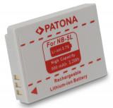 1 PATONA | Acumulator compatibil CANON NB-5L NB5L NB 5L | 900 mAh, Dedicat