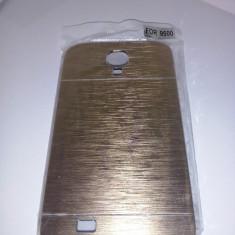 Husa Motomo Metal Case Samsung I9500 Galaxy S4 GOLD