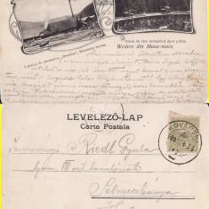 Musa Mare -Buzau, Covasna   -tren, cale ferata, industria lemnului-clasica