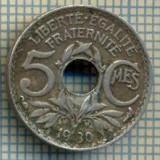 9317 MONEDA- FRANTA - 5 CENTIMES -anul 1930 -starea care se vede, Europa