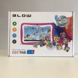 Tableta BLOW KidsTAB 7.4 Roz, 7 inch, 4GB, Wi-Fi, Android