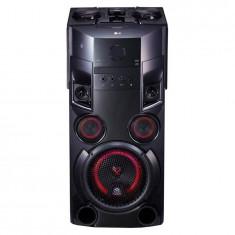 Sistem audio LG OM5560, 500 W, Wireless party link, DJ Effects, Bluetooth, Karaoke, Negru