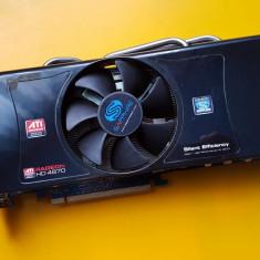 8S.Placa Video Radeon HD 4870, 512MB DDR5-256Bit, PCI-e, 2xDVI - Placa video PC Sapphire, PCI Express, Ati