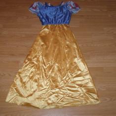 Costum carnaval serbare alba ca zapada pentru copii de 7-8 ani - Costum Halloween, Marime: Masura unica, Culoare: Din imagine