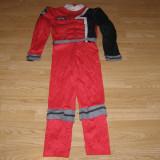 Costum carnaval serbare ninja power rangers pentru copii de 7-8 ani - Costum Halloween, Marime: Masura unica, Culoare: Din imagine