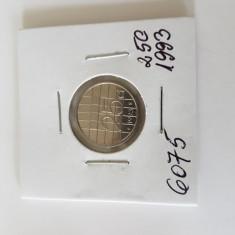 6075 OLANDA 25 CENTI 1993, Europa