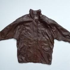 Haina piele naturala Polo Club Genuine Leather;marime XXXL, vezi dim.;impecabila - Geaca barbati, Culoare: Din imagine