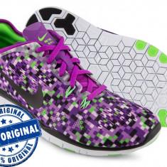 Adidasi dama Nike Free 5.0 - adidasi originali - running - alergare, Culoare: Din imagine, Marime: 39, Textil