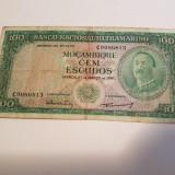 MOZAMBIC 100 ESCUDOS 1961, Africa
