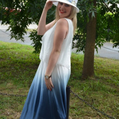 Palarie fashion in nuanta de alb imaculat cu panglica colorata (Culoare: ALB) - Palarie Dama