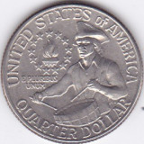 Moneda Statele Unite ale Americii 1/4 Dolar 1976D - KM#204 XF ( bicentenar ), America de Nord, Cupru-Nichel