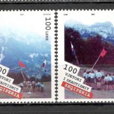 Albania.2007 EUROPA-Cercetasii  SA.622