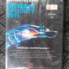 BITDEFENDER 2015 . INTERNET SECURITY - Antivirus