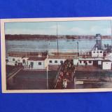 CARTE POSTALA * BRAILA , DEBARCADERUL,CIRCULATA,1942